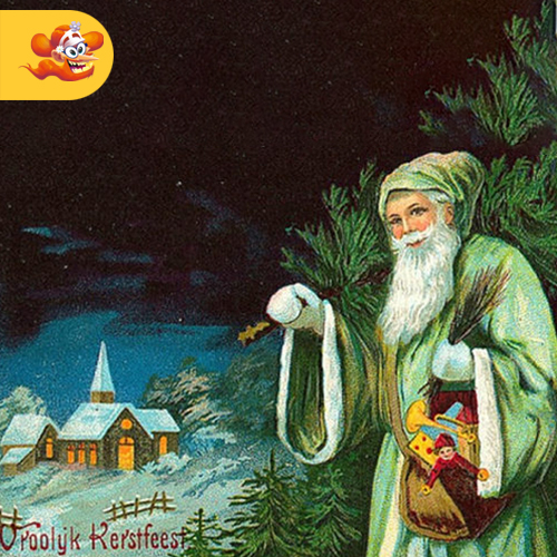 Babbo Natale è rosso grazie a Coca Cola?