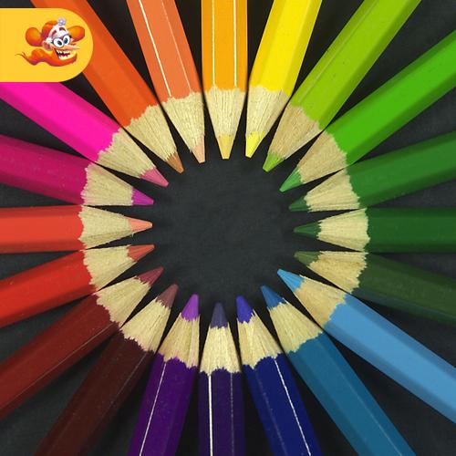 colori primari, colori secondari e colori terziari