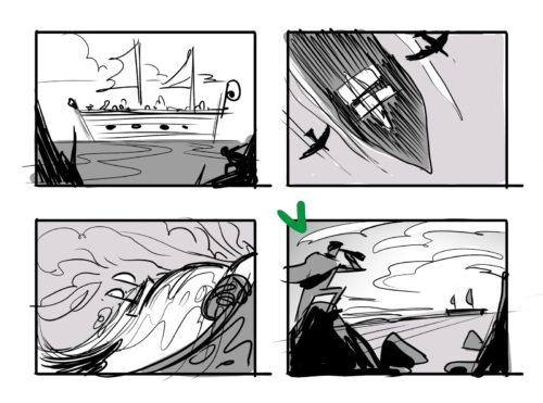 composizione illustrazione